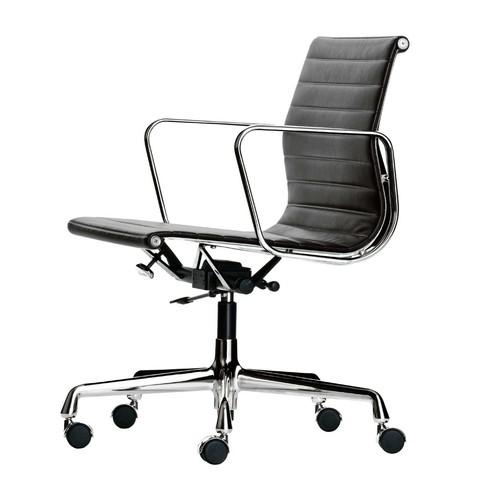 Vitra - EA 117 Alu Chair Bürostuhl/ Gestell verchromt