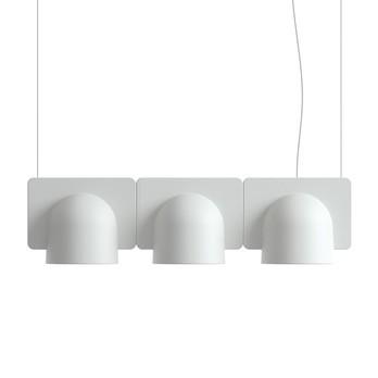 Fontana Arte - Igloo 3 LED-Pendelleuchte 3 Module