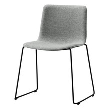 Fredericia - Pato Chair Upholstered With Sledge Base