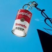 Ingo Maurer - Canned Light Wandleuchte - aluminium