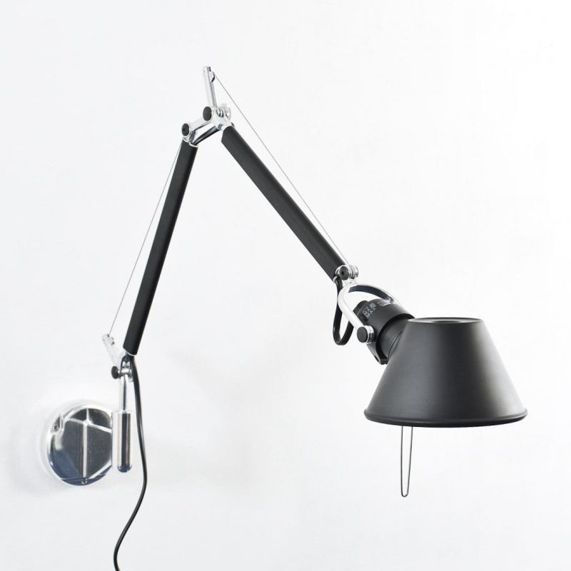 tolomeo micro parete wandleuchte artemide. Black Bedroom Furniture Sets. Home Design Ideas