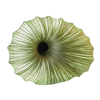 aqua creations - Viola Tischleuchte/Bodenleuchte - grasgrün/Seide/Farbton variiert je nach Leuchtmittel/75x20x53cm
