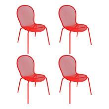 emu - Set de 4 chaises de jardin Ronda