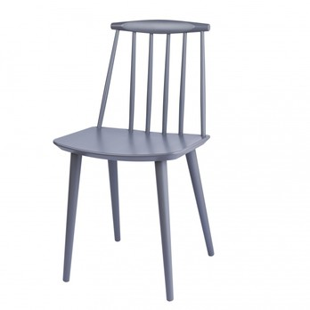 HAY - HAY J77 Stuhl - grau/lackiert