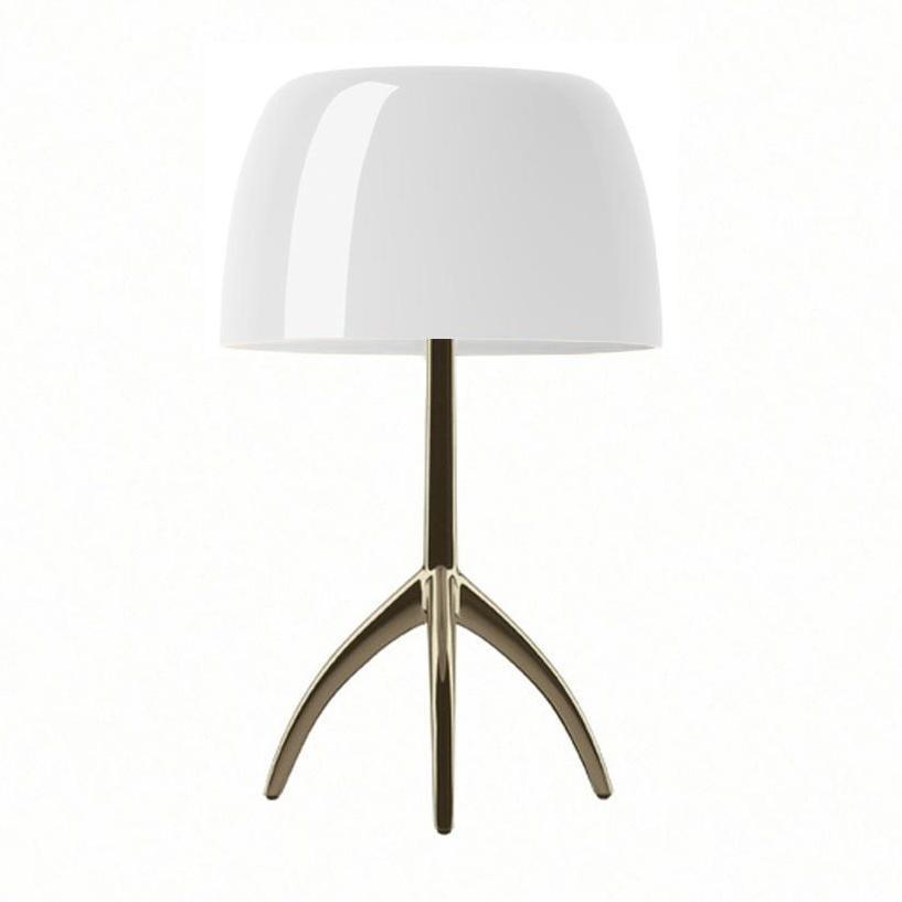 foscarini lumiere piccola champagne lampe de table ambientedirect. Black Bedroom Furniture Sets. Home Design Ideas