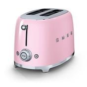 Smeg - SMEG 2-Scheiben Toaster TSF01 - cadillac pink/lackiert/6 Röstgradstufen/31x19,5x19,8cm
