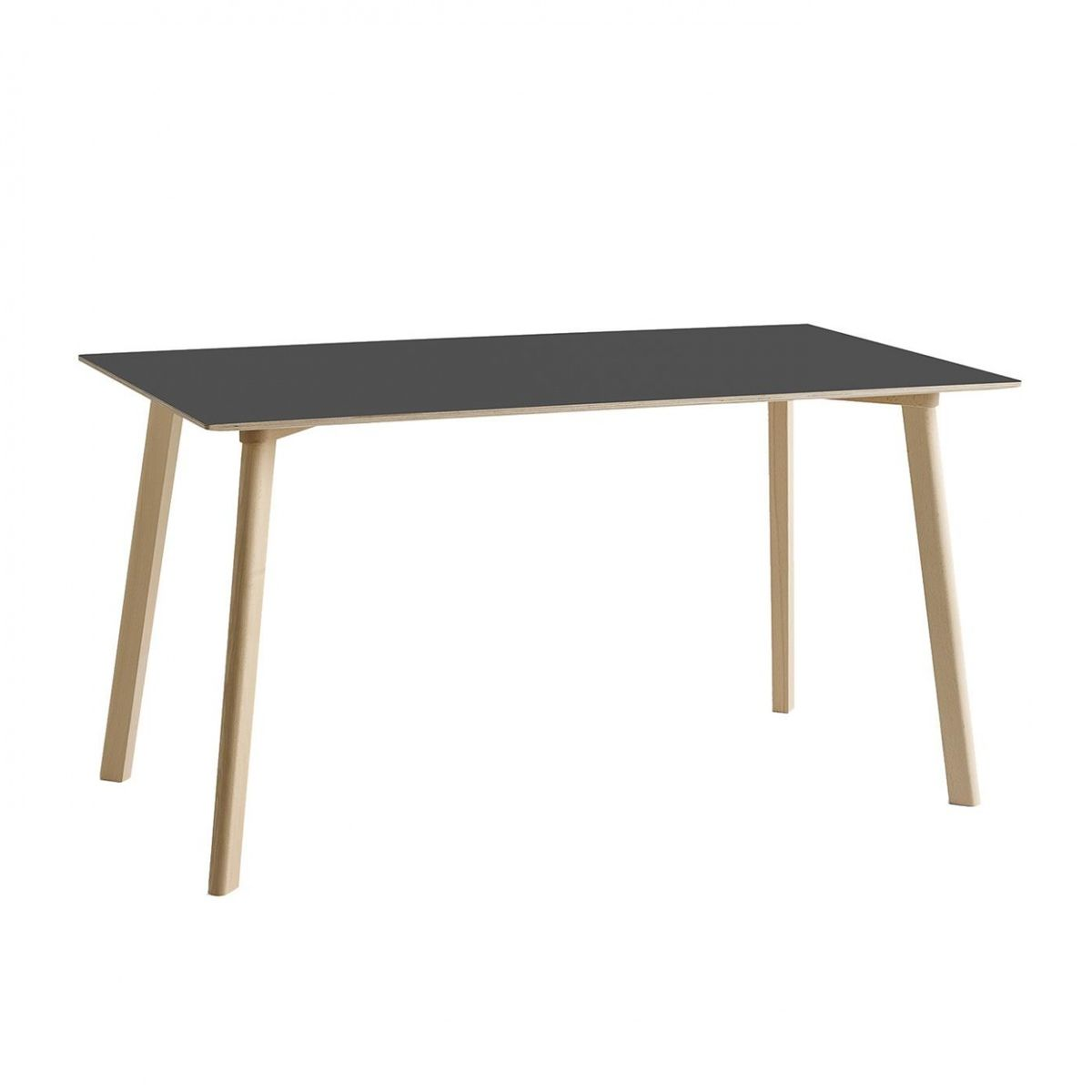 copenhague deux cph 210 table 140x75cm hay. Black Bedroom Furniture Sets. Home Design Ideas