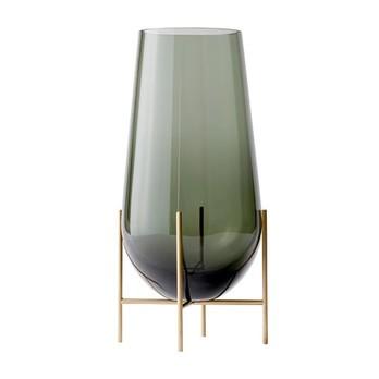 Menu - Menu Échasse Vase L - rauchgrau/H: 60cm x Ø 30cm