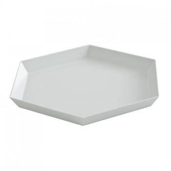 HAY - Kaleido S Ablage/Tablett - grau/22x19cm
