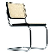 Thonet - S 32 V Cantilever Chair with Wickerwork