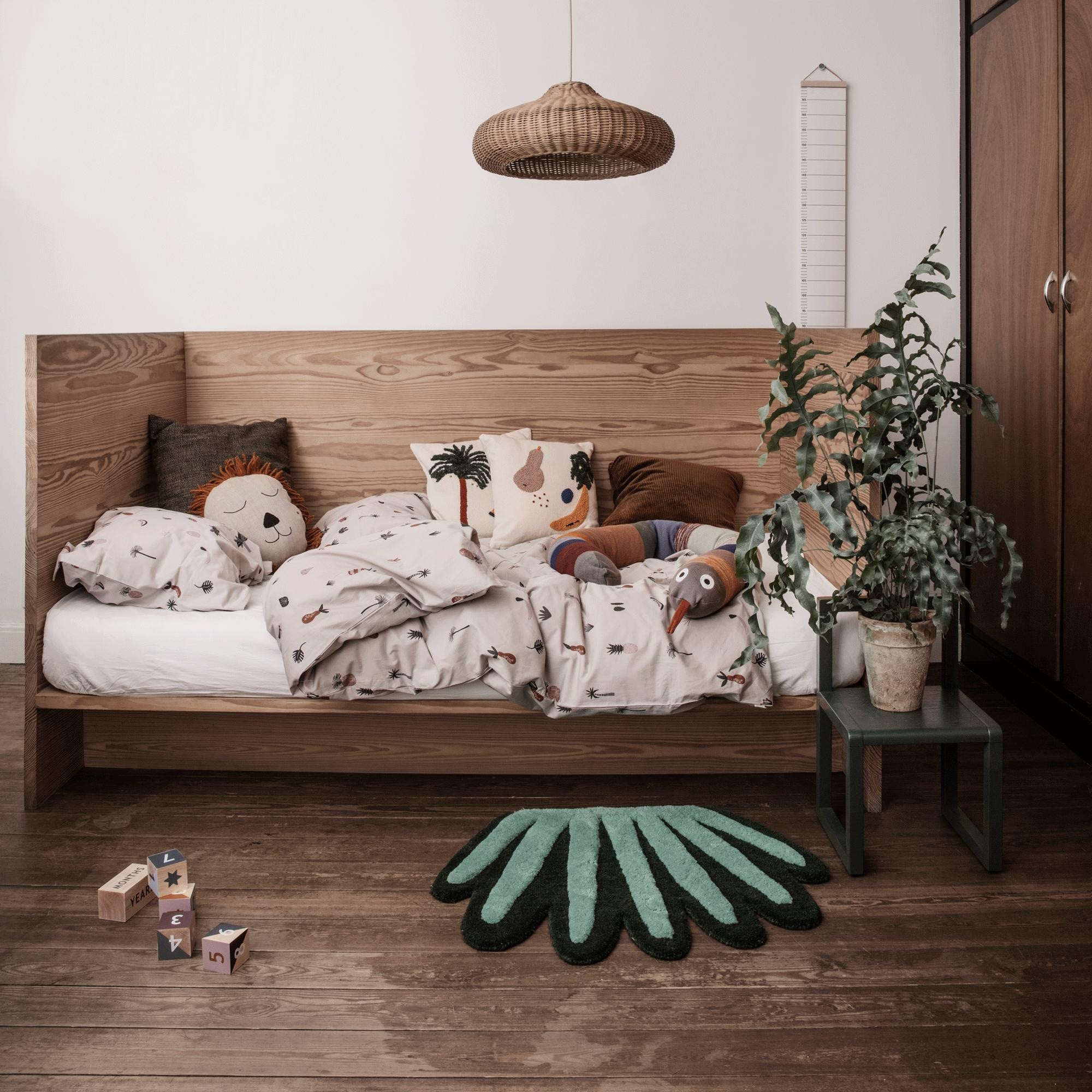 Little Architect Kinderstuhl Dunkelblau Ferm Living