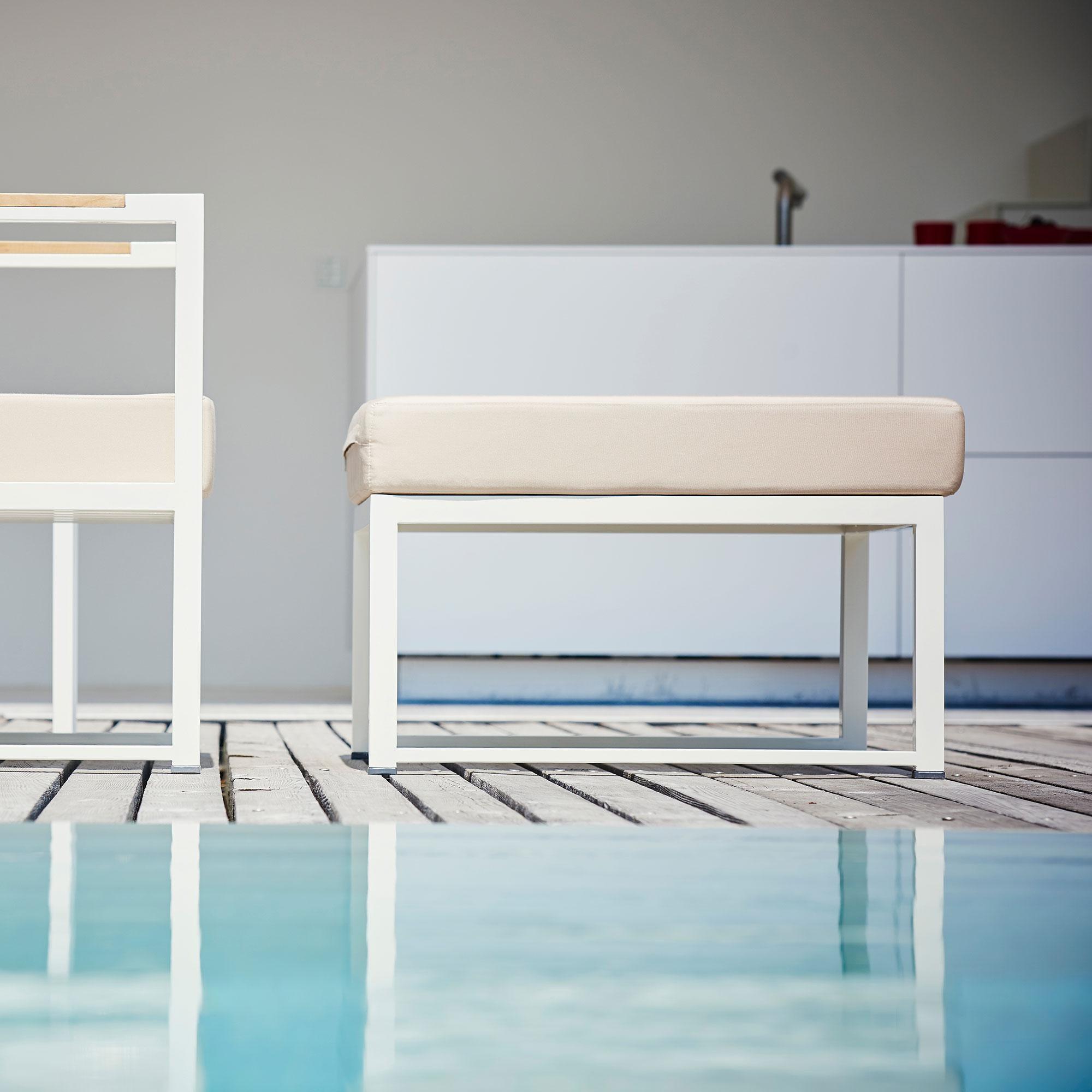 Lounge Stoel Hocker.Jan Kurtz Lux Lounge Extension Element Stoel Ambientedirect