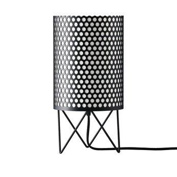 Gubi - Pedrera ABC PD4 Tischleuchte - schwarz/lackiert/Ø 18,5cm/Kabel schwarz