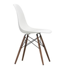 Vitra - Eames Plastic Side Chair DSW Dark Maple Base