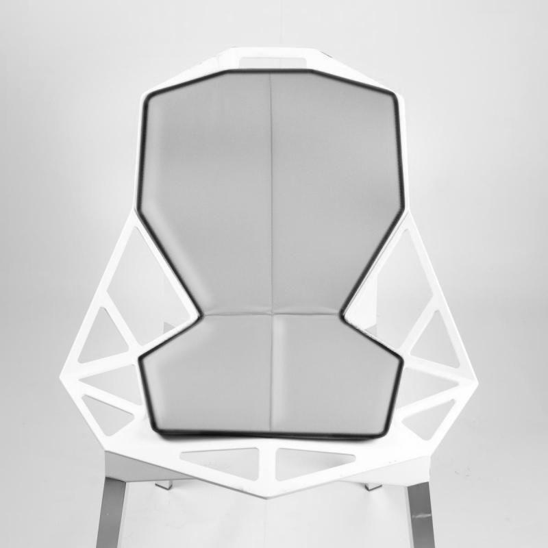 Chair one 4star chaise pivotante magis - Coussins pour balancelle assise et dossier ...
