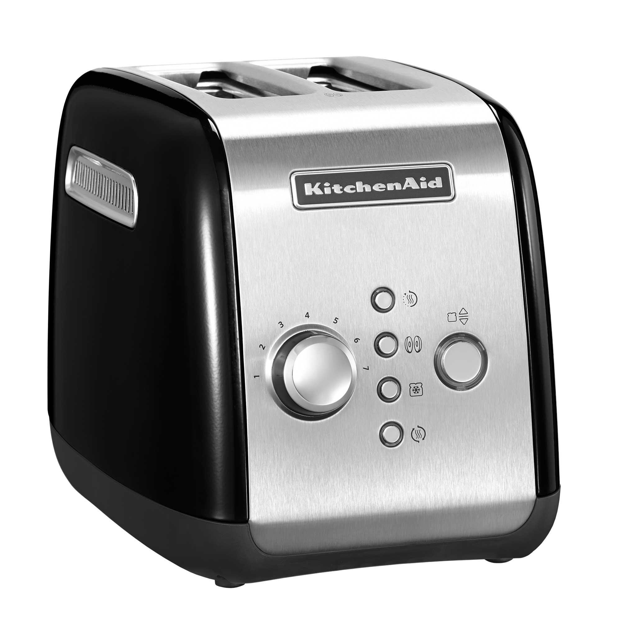 with toaster high controls kmt on lever black decker slice lift review dual and kitchenaid independent manual