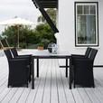 Skagerak - St. Thomas-Set Gardentable + 4 Chairs