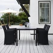 Skagerak: Hersteller - Skagerak - St. Thomas-Set Gartentisch + 4 Stühle