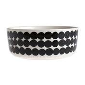 Marimekko - Oiva Schüssel - schwarz-weiß/Muster: Siirtolapuutarha/1.5l/ Ø 20cm