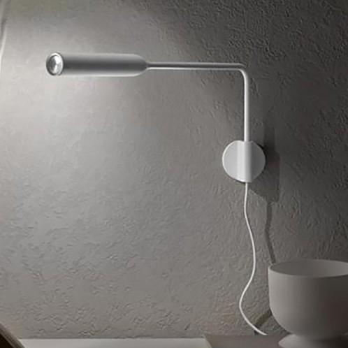 Lumina - FLO LED Wandleuchte mit Stecker