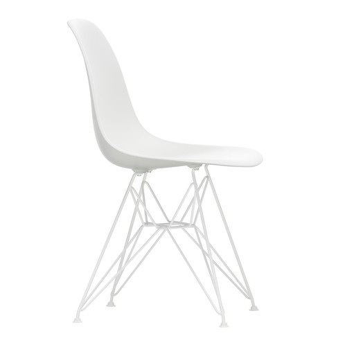 Vitra Eames Plastic Side Chair Dsr, White Side Chair