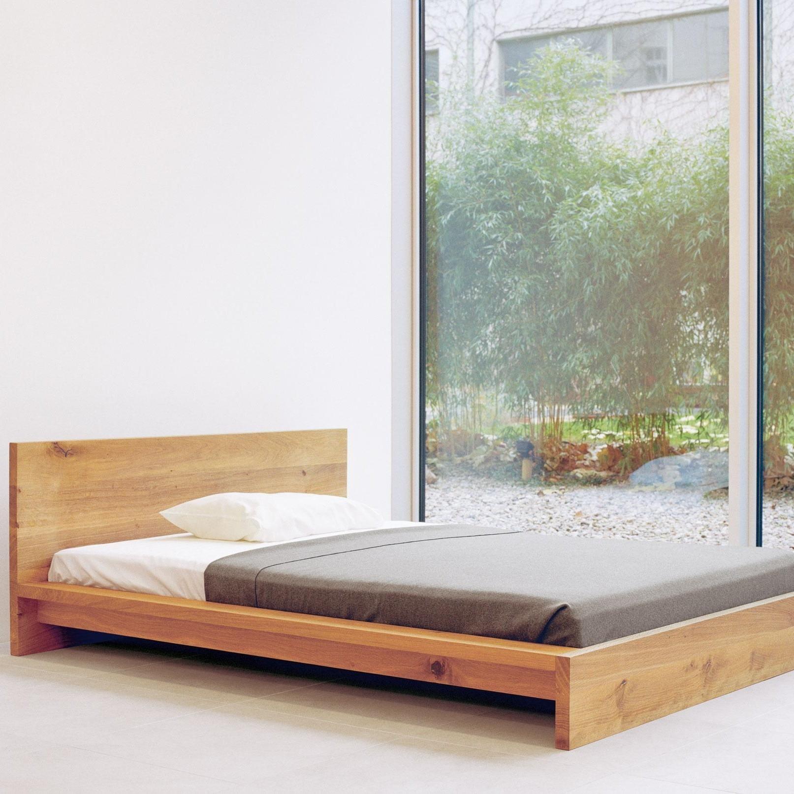 E15 Sl02 Mo Massivholz Bett Ambientedirect