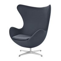Fritz Hansen - Egg Chair Loungechair Fabric