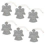 Hey-Sign - Christmas Ornament Angel 6 pieces