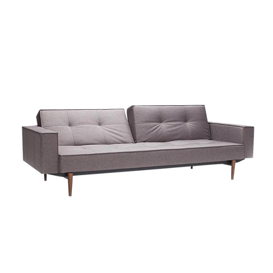 Sofabett holz  Splitback Wood Sofa Bed With Armrests | Innovation ...