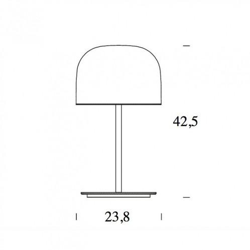 Fontana Arte - Equatore LED Tischleuchte - Strichzeichnung