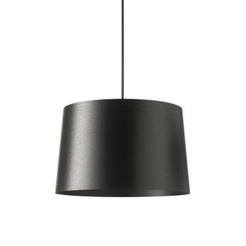 Foscarini - Twiggy Grande Pendelleuchte - schwarz/Glasfaser/H 29cm/Ø 46cm