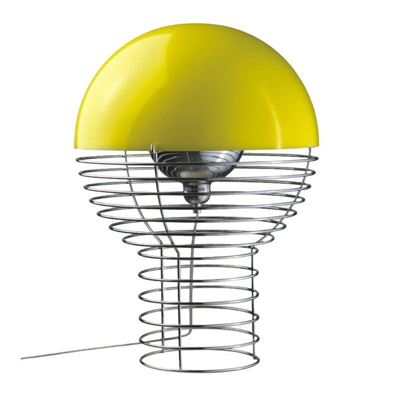 Verpan wire panton table lamp ambientedirect verpan wire panton table lamp yellowsize 2 40cm keyboard keysfo Gallery