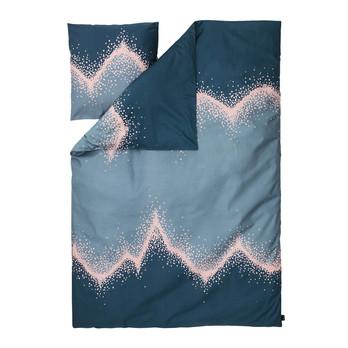 Normann Copenhagen - Sprinkle Bettwäsche - blau/Decke 200x140cm/Kissen 60x63cm