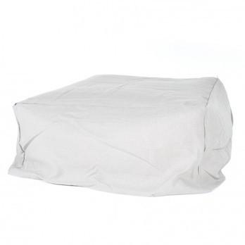 Gervasoni - Ghost 08 Hocker / Ottomane - weiß/Stoff Lino weiß