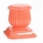 Moroso - Capitello Hocker/Beistelltisch - orange/lackiert/Nur noch 1x im Bestand!