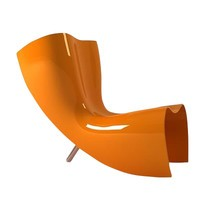 Cappellini - Felt Chair Marc Newson Sessel