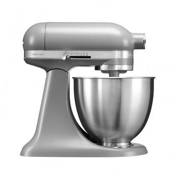 KitchenAid - KitchenAid Mini 5KSM3311X Küchenmaschine - grau/matt/250W