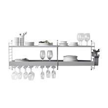 String - Küchenregal 138x50x30cm