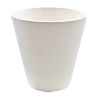 Serralunga - New Pot Vase Ø 70cm - weiß/matt