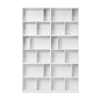 Montana - Read Bücherregal 211,8x139,2cm - new white 101/lackiert