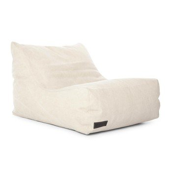 NORR 11 - Club Lounge Chair Sessel - beige - washed beige/Canvas/70x92x60cm