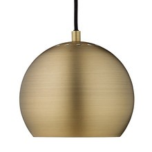Frandsen - Ball Pendelleuchte Ø18cm Metallic