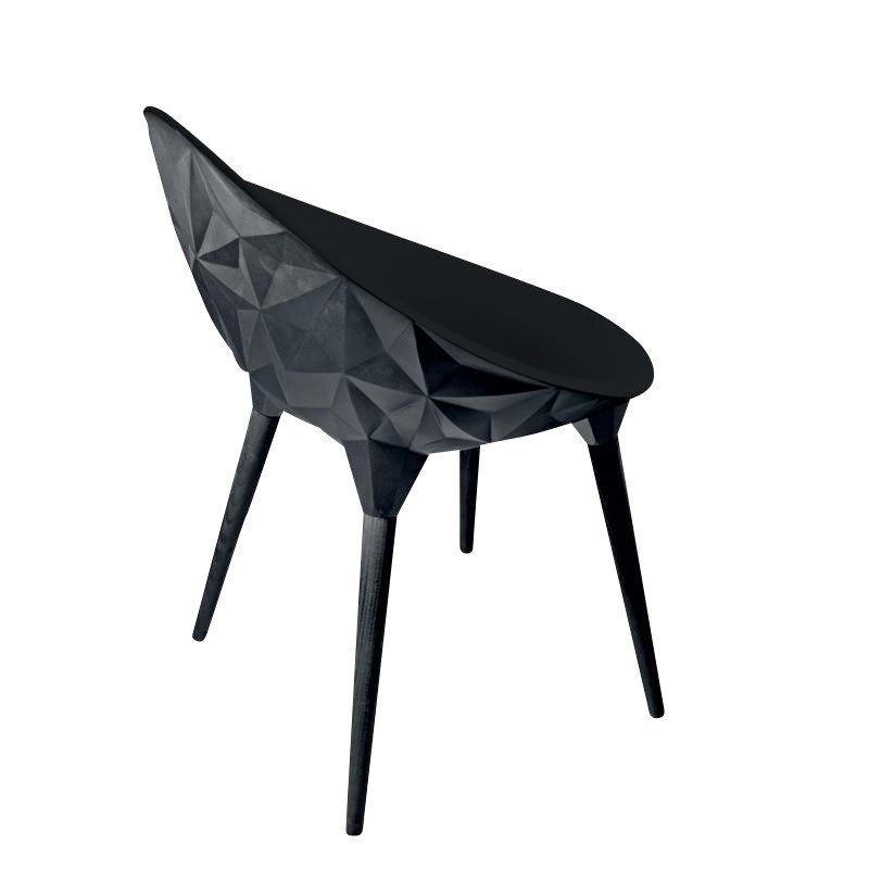 Rock Chaise structure noire Diesel