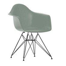 Vitra - Eames Plastic Chair DAR Black Frame H43cm