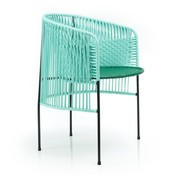 Ames - Chaise de jardin avec accoudoirs Caribe