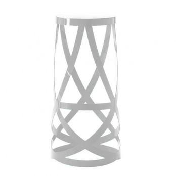 Cappellini - Ribbon Barhocker - weiß/matt/H 77cm