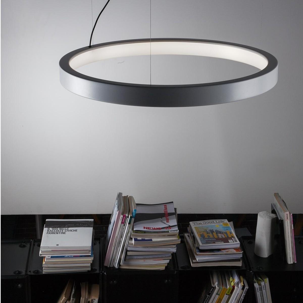 lunaop 2086 led suspension lamp martinelli luce. Black Bedroom Furniture Sets. Home Design Ideas