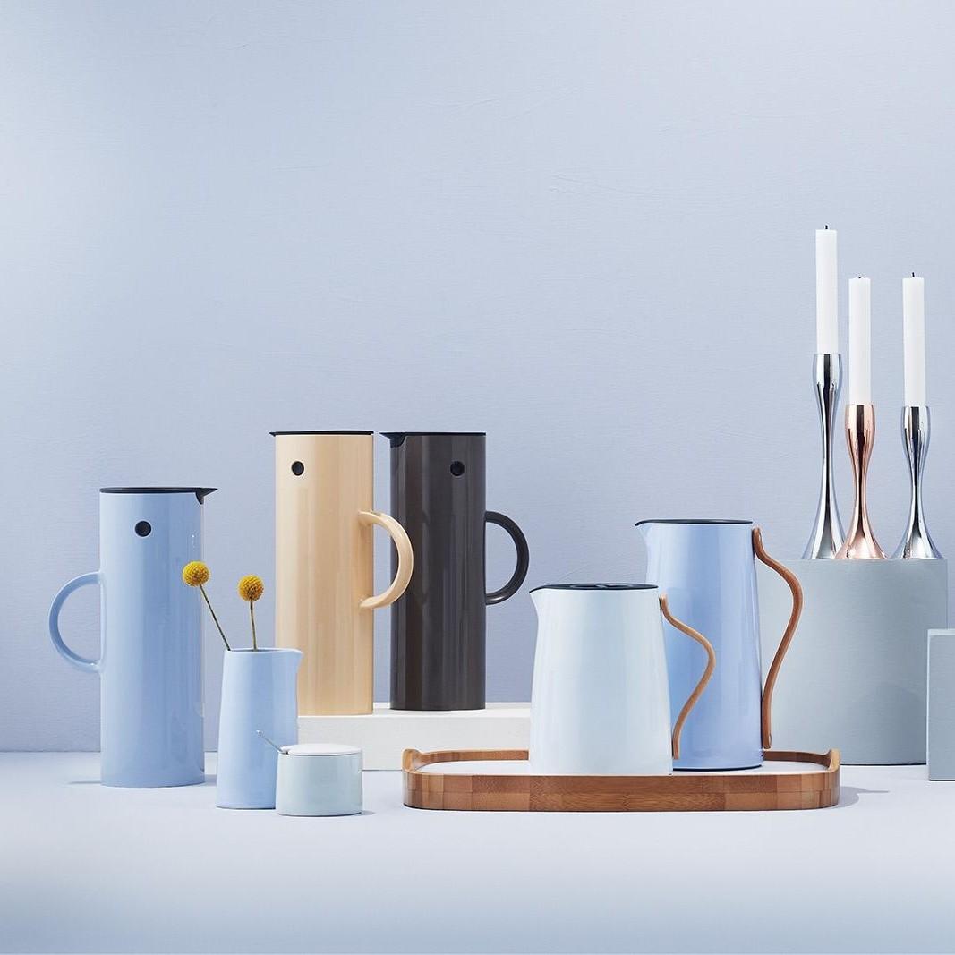 emma kaffee isolierkanne 1 2l stelton. Black Bedroom Furniture Sets. Home Design Ideas