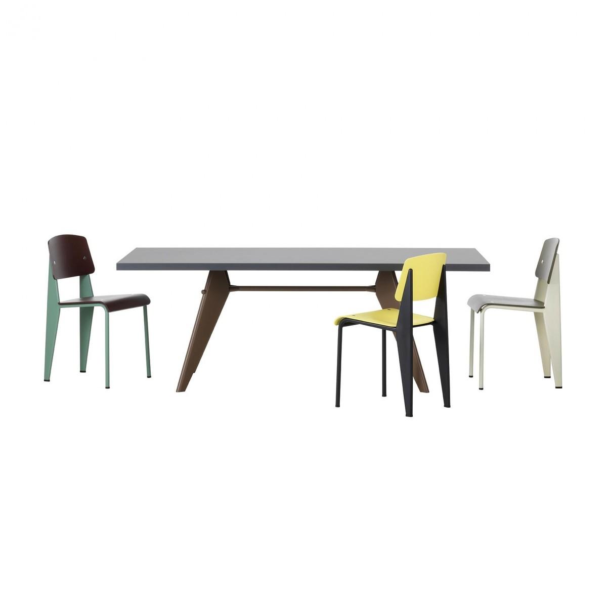 em table hpl prouv tisch vitra. Black Bedroom Furniture Sets. Home Design Ideas
