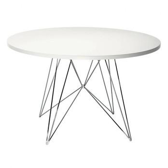 Magis - Tavolo XZ3 Tisch rund - weiß/Gestell chrom/Ø 120 cm